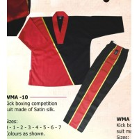 Kick Boxing Competition Suit Kung Fu Range
