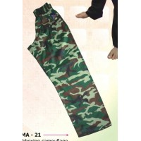 Kickboxing Camouflage Trousers Semi Contact Range