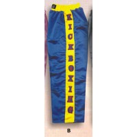 Blue Kick Boxing Trousers Boxing Products