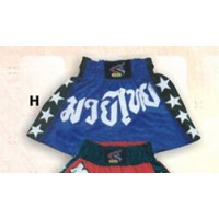 Blue and Black Thai & Kick Boxing Shorts Boxing Products