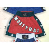 Red and Black Thai & Kick Boxing Shorts Boxing Products