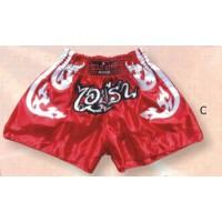 Red Thai & Kick Boxing Shorts Boxing Products