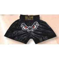 Black Thai & Kick Boxing Shorts Boxing Products